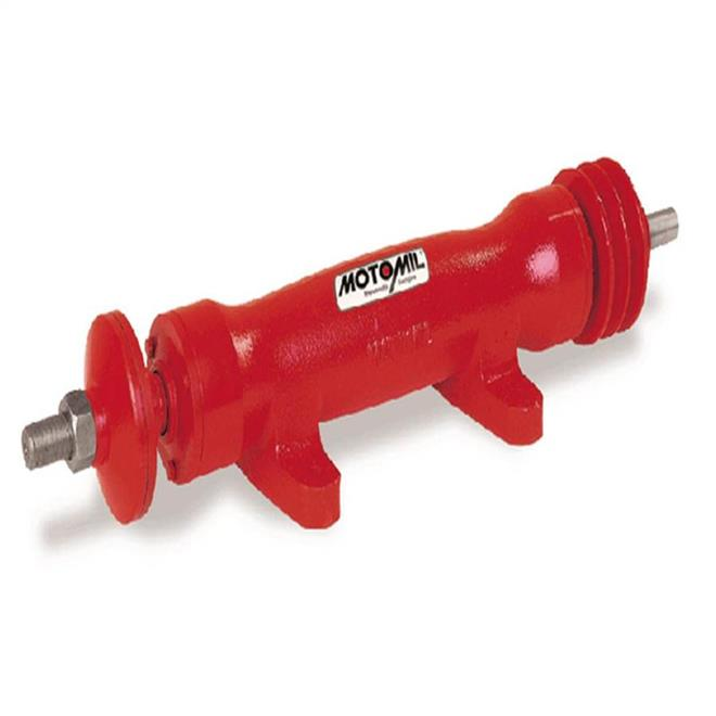 eixo serra circular motomil esc-200 2 cv 3  4 u0026quot  400mm em ferro fundido