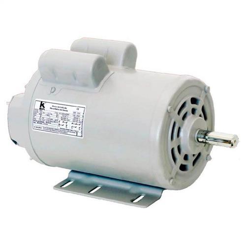 Motor Elétrico Para Bomba Monofásico Nova Motores Ip-21 De 3/4 Cv 2 Pólos 110/220V