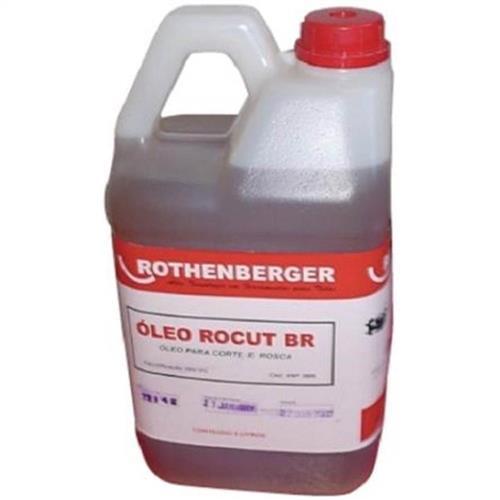 Óleo Para Corte E Rosca Rocut Rothenberger Br 5L