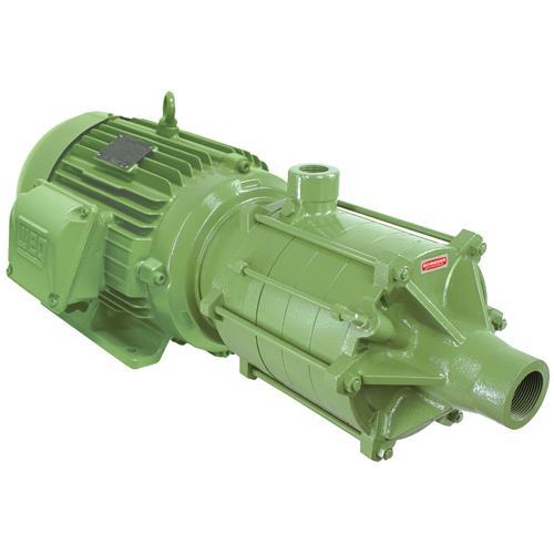 Bomba Multiestágio Schneider Me-Br 26100 10 Cv Monofásica 220/440V Com Capacitor