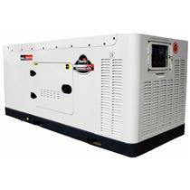 Gerador De Energia 20 Kva A Diesel 4 Tempos Silêncioso Td20ssge3 (Ats Opcional) Toyama Trif. 220/380V