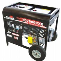 Gerador De Energia 5.5 Kva A Diesel Part. Manual Avr Td7000cx(E) Toyama Mono. 110/220V