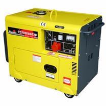 Gerador De Energia 5.5 Kva A Diesel Part. Elétrica Avr Td7000sge3 Toyama Trif. 380V