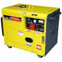 Gerador De Energia 5.5 Kva A Diesel Part. Elétrica Avr Td7000sge3d Toyama Trif. 220V