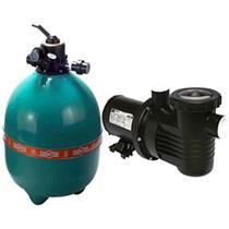 Conjunto Filtro Bomba E Areia Para Piscina Dancor Dfr-22 Com Bomba De 3/4 Cv Trifásica 220/380V - 20120058005