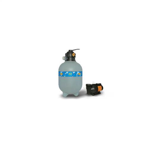 Conjunto Filtro Bomba E Areia Para Piscina Jacuzzi 15Tp Com Bomba 3A 1/3 Cv Trifásica 220/380V