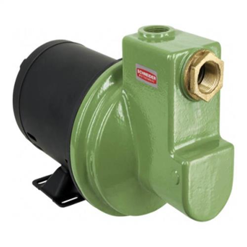 Bomba Autoaspirante Schneider Mba-Zl 1Cv 127V/220V Monofásico Sem Capacitor