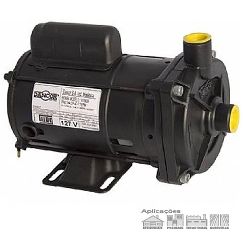 Bomba Centrifuga Dancor Cp-4C 1 3 Monofásica 127V - Dancor 353317599c2