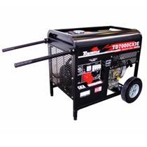 Gerador De Energia 5.5 Kva A Diesel Part. Elétrica Avr Td7000cx3ed Toyama Trif. 220V