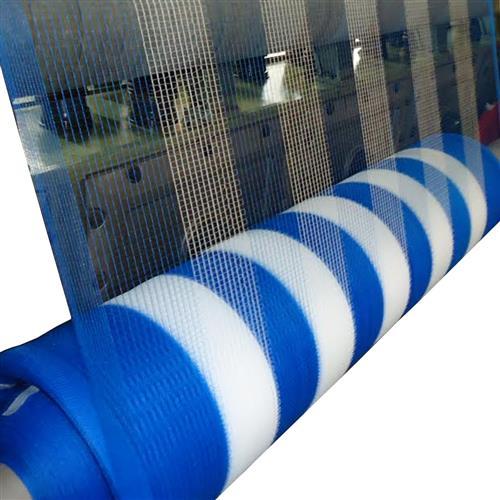 Tela Azul E Branca Guarda Corpo 1,20X50 Metros