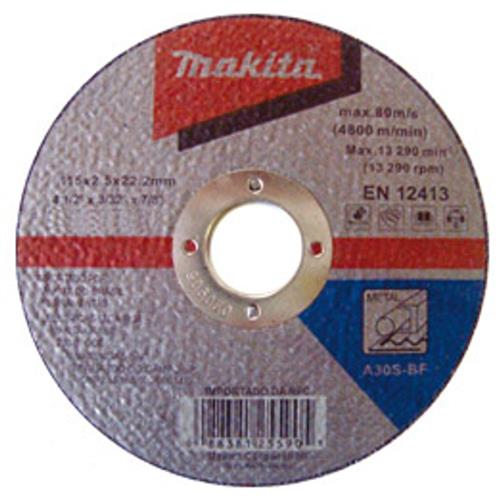 """Disco De Corte Makita Para Metal 7"""" Embalagem Com 10"""