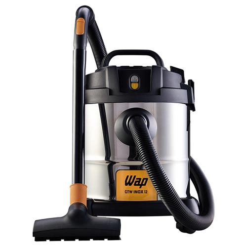 Aspirador De Pó E Água Wap Gtw Inox 12 1400 Watts Monofásico 127V