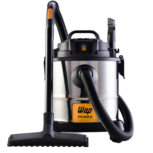 Aspirador De Água E Pó Wap Gtw 1600W Inox 20 Monofásico 127V