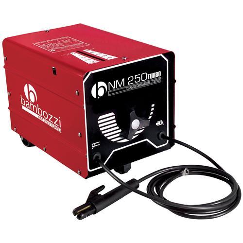 Transformador De Solda Bambozzi Nm 250A Turbo Bivolt 110/220V