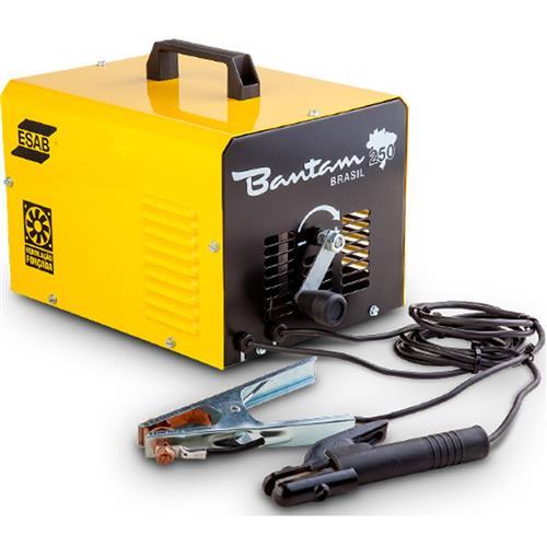 Máquina De Solda Esab Bantam Brasil 250 Monofásica 110V/220V
