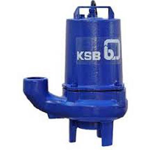 Bomba Submersível Ksb Krt Drainer K 2000 Com Passagem De Sólidos 2 Cv Trifásica 220V