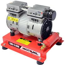 Compressor De Ar Direto Motomil Cmi-5/Ad Isento De Oleo 1000W 4 Polos Monofasico 220V