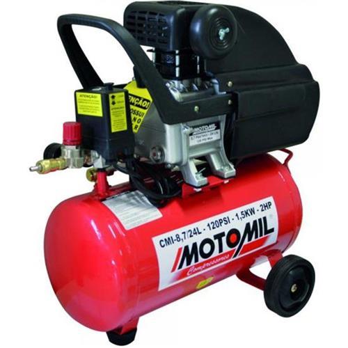 Motocompressor Motomil Cmi-8,7/24 2Cv Monofásico 110/220V