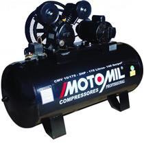 Compressor Motomil Cmv-10/175 140Lbs 2Cv Trifásico 220/280V