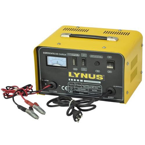 Carregador De Baterias Portátil 150 A 12/24 V Lynus Lcb-25 127V