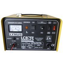 Carregador De Bateria Lynus Lcb-25 Ip21 Monofásico 220V