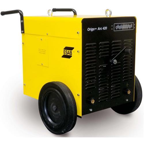 Máquina De Solda Retificadora Origo Arc Esab 420 Trifásica 220/380/440V