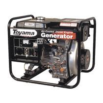 Gerador De Energia Toyama Td4000cx 7Hp 3,8Kva Monofásico 127/220V À Diesel