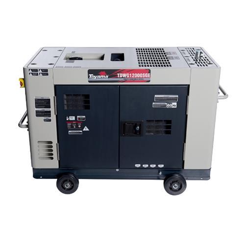 Gerador De Energia Toyama Tdwg12000sge3d 12,6Kva Trifásico 220V À Diesel Com Partida Elétrica
