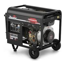 Gerador De Energia Toyama Tdg8000cxe 13Hp 6,5Kva Monofásico 110/220V À Diesel Com Partida Elétrica