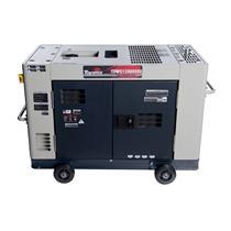 Gerador De Energia Toyama Tdwg12000sge 10Kva Monofásico 110/220V À Diesel Com Partida Elétrica