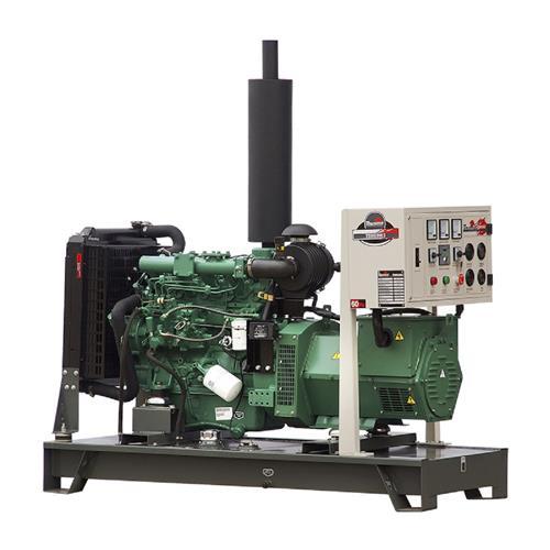 Gerador De Energia Toyama Tdmg30e3 30Kva Trifásico 220V À Diesel Com Partida Elétrica
