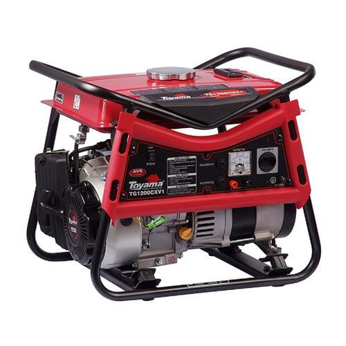 Gerador De Energia Toyama Tg1200cxv 2,5Hp 1,2Kva Monofásico 120V À Gasolina