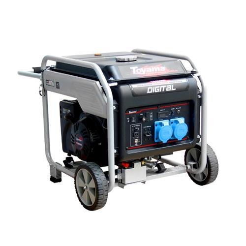 Gerador De Energia Digital Toyama Tg9000i 15,0Hp 8,75Kva Monofásico 120/220V À Gasolina