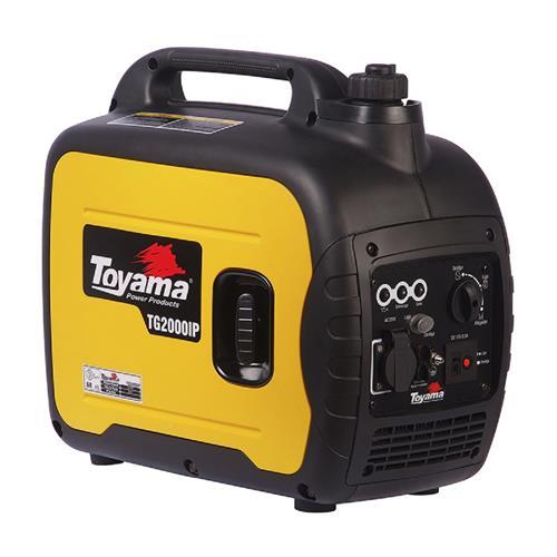Gerador De Energia Digital Toyama Tg2000ip-220 1,8Kva Monofásico 220V À Gasolina