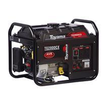 Gerador De Energia Toyama Tg2800cxe 6,5Hp 2,5Kva Monofásico 110V/240V À Gasolina C/Partida Elétrica