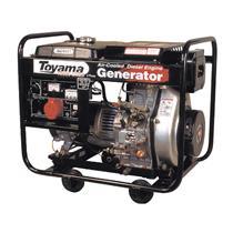 Gerador De Energia Toyama Td6000cx 10Hp 6,0Kva Monofásico 110/220V À Diesel