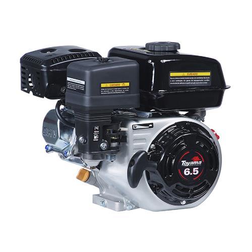 Motor Toyama Tf65flex1 6,5Hp À Gasolina Com Partida Elétrica E Bobina 12V