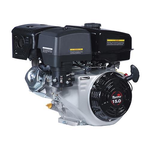 Motor Toyama Tf150fex1 15,0Hp À Gasolina Com Eixo Chavetado + Partida Elétrica