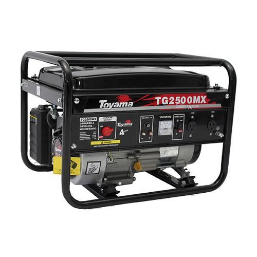 Gerador De Energia Toyama Tg2500mx1 6,5Hp 2200W Monofásico 110V À Gasolina