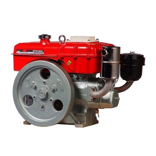 Motor Toyama Tdw8r 7,7Hp 402Cc À Diesel Com Radiador E Partida Elétrica