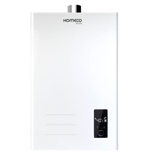 Aquecedor A Gás Komeco Ko 25D 25 Litros Glp Branco